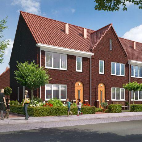 Groene Gordijn 2.0 in Bergen op Zoom: wonen in een lommerrijke, parkachtige setting