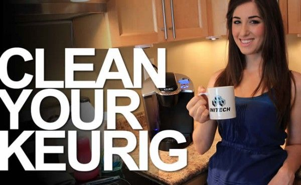 Clean a Keurig Coffee Maker!  We've had our Keurig for three years and have used this method several times ... and our Keurig keeps on ticking!!  :)