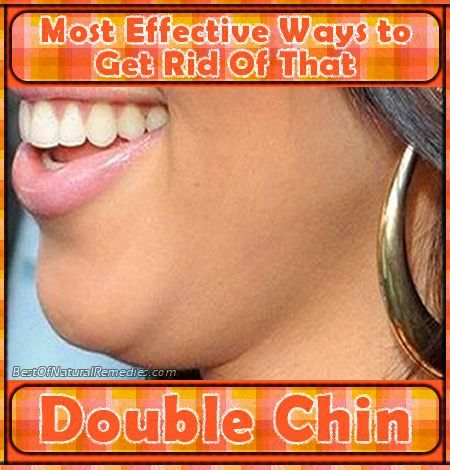 Most Effective Ways to Get Rid Of That Double Chin