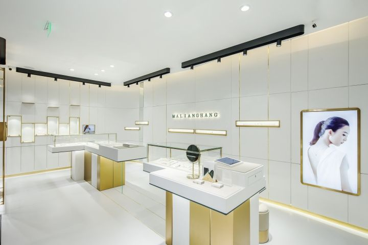 MALIANGHANG jewelry Boutique by Atelier Liang Liang Design Studio Shanghai  China