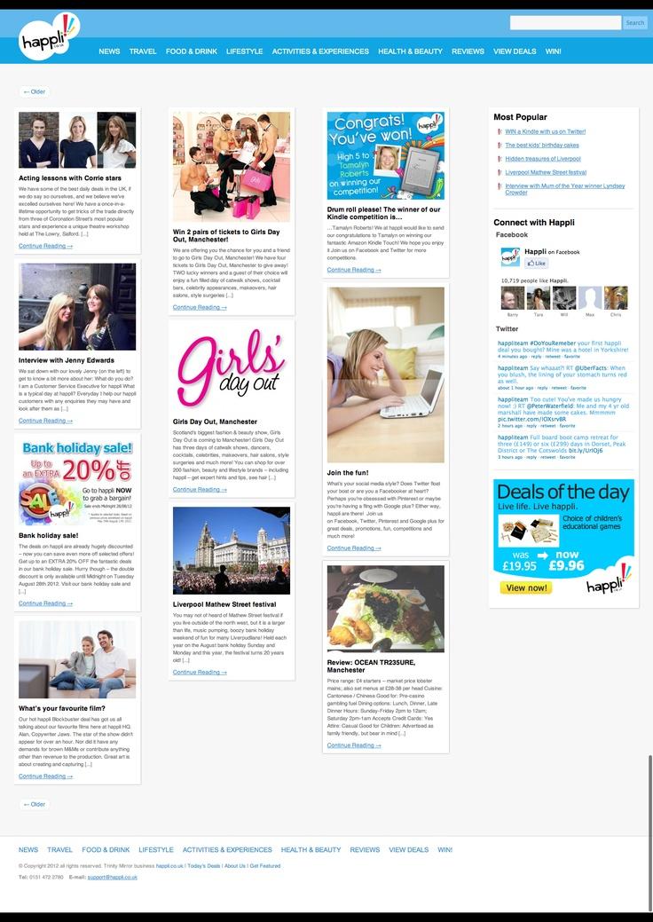 happli's blogWork, Happli Blog