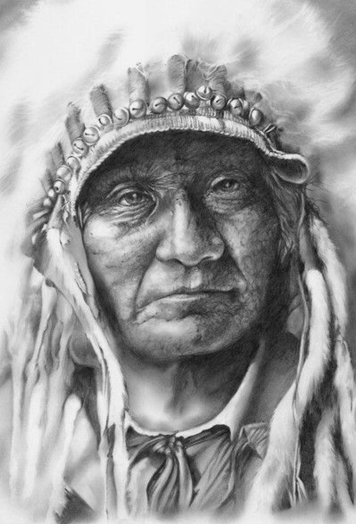 графические картинки про индейцев сливочном