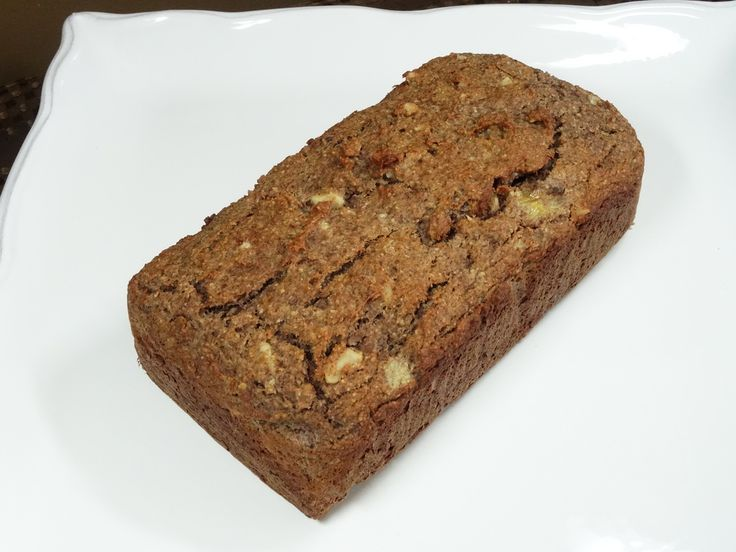 Spiced Banana Loaf - rustic