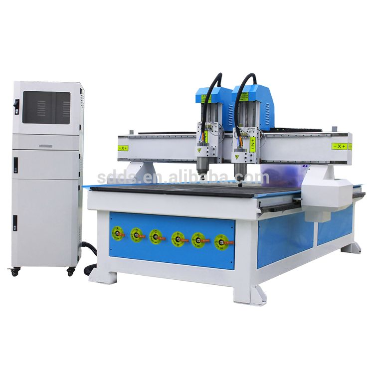 high quality manufacturer Heavy body vacuum table 1325 Wood Carving CNC Router Machine