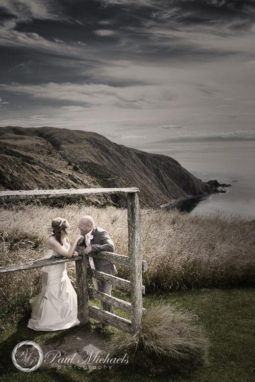 spectacular view at boomrock. PaulMichaels wedding photographers in Wellington. http://www.paulmichaels.co.nz/