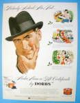 1955 Dobbs Hats With Man Wearing Hat