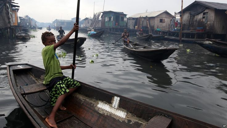 ictures of lagos,nigeria | Canoes in the Lagos slum of Makoko in Lagos, Nigeria - Thursday 27 ...