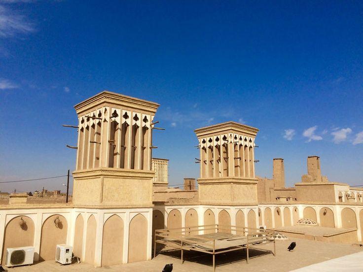 Ветряные башни Ирана