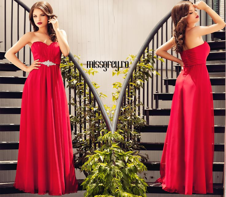 Lovely long red evening dress made from silk veil, available on website: https://missgrey.ro/ro/home/rochie-elisse-rosie/339?utm_campaign=colectie_iunie1&utm_medium=elisse_rosie&utm_source=pinterest_produs