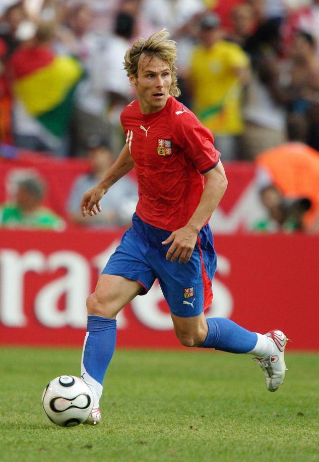 Pavel Nedved de la JUventus y Selección de la Republica Checa.