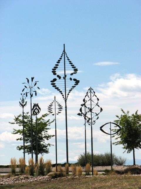 Wind sculptures - Frederick, CO