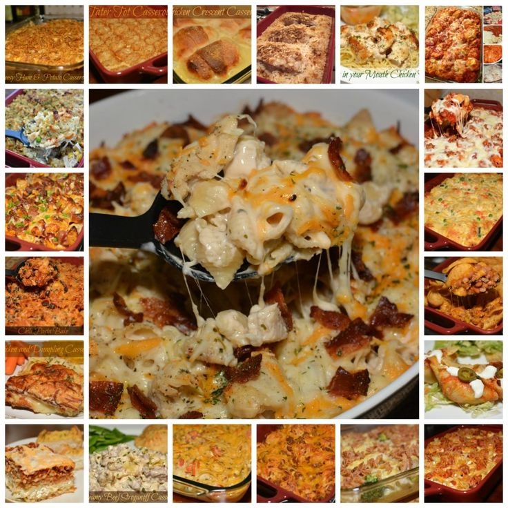 Back to School Casserole Recipe Round Up- The Cookin' Chicks