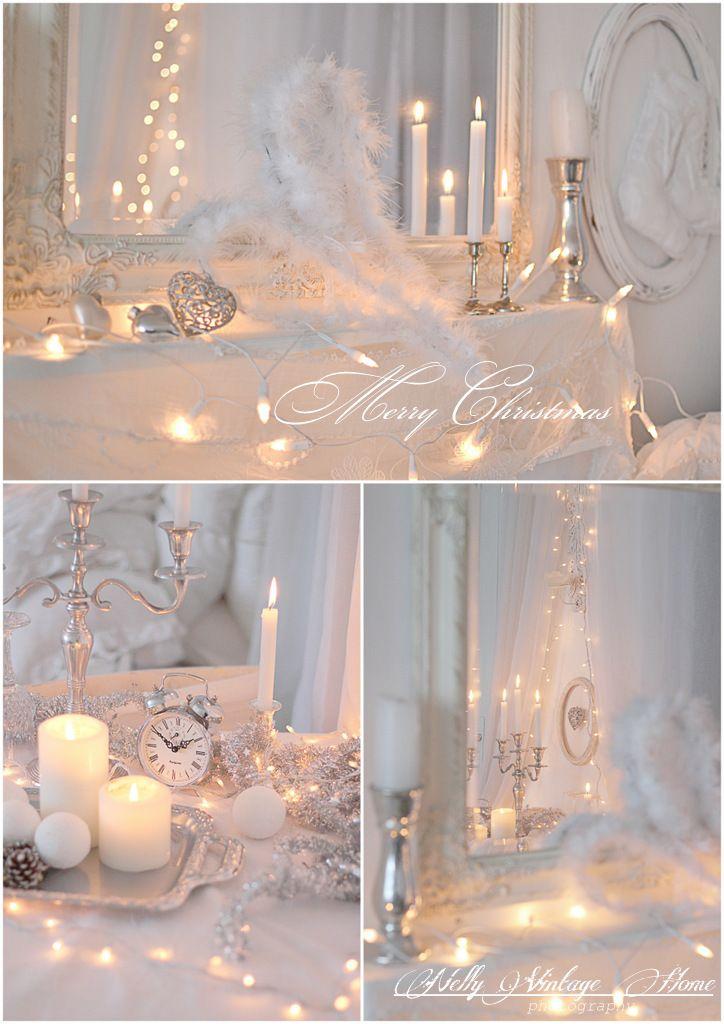 Wit en zilver kerst