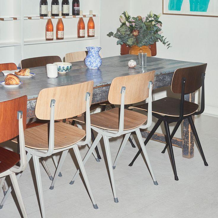 Result Stuhl von Hay am Esstisch