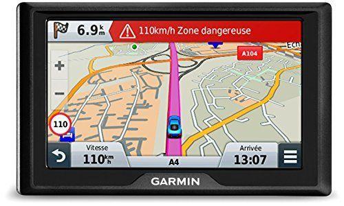 Garmin Drive 51 LMT-S – GPS Auto – 5 pouces – Cartes Europe 46 pays – Cartes, Trafic, Zones de Danger gratuits à vie: Type de…