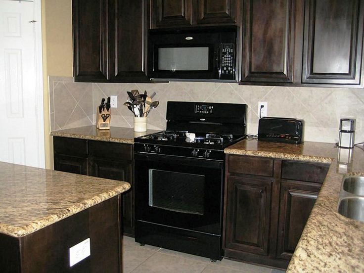 Top 25 Ideas About Kitchen Black Appliances On Pinterest