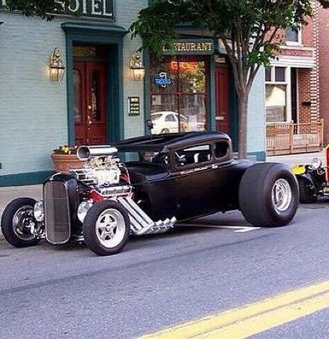 Blown 30 Ford Coupe