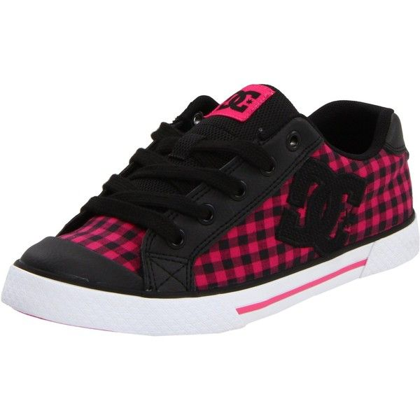 DC Women's Chelsea Action Sports Shoe ($50) ❤ liked on Polyvore featuring shoes, sneakers, dc shoes footwear, skate shoes, dc shoes and rubber sole shoes