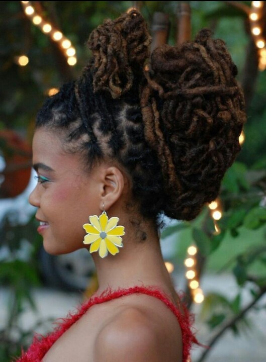 140 Best African American Womens Dreadlocks Images On Pinterest