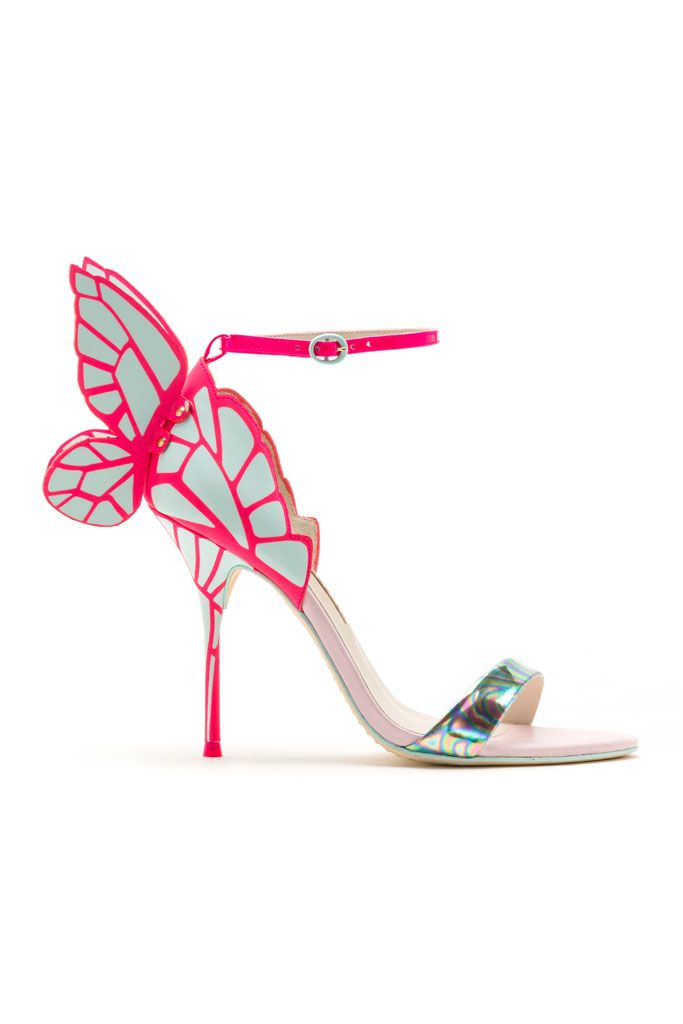 Sophia Webster | kinda cool statement shoe. Would look fab on red carpet. Chiara style I believe.