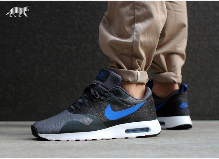 d3365634ea Nike Air Max Tavas Black And Blue leoncamier.co.uk