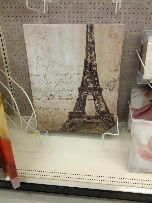Eiffel tower decor Room Makeover Pinterest Walmart