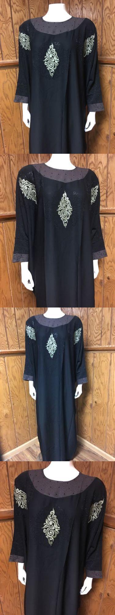 Middle East 155253: Butterfly Khaleeji Abaya Arabic Farasha Jilbab Umbrella Style Size L 58 -> BUY IT NOW ONLY: $44.99 on eBay!
