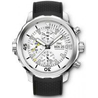 IWC Aquatimer Chronograph Silver Dial Mens Replica Watch IW376801