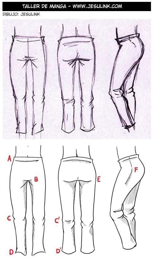 Resultado de imagen para arrugas en la ropa dibujo