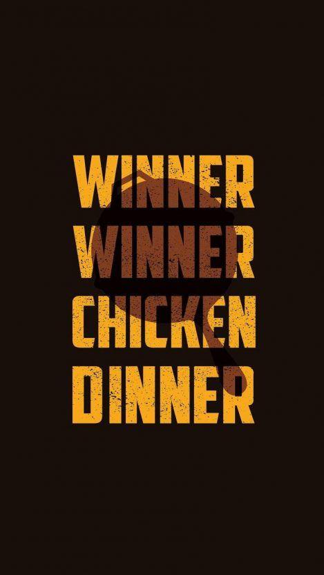 Nice PUBG Chicken Dinner iPhone Wallpaper