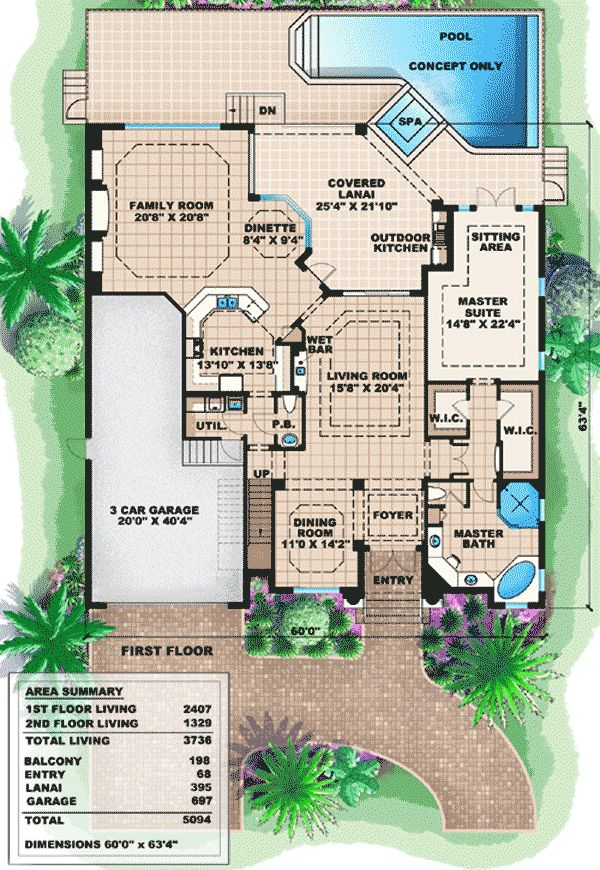 plan 66237we two story mediterranean house plan house