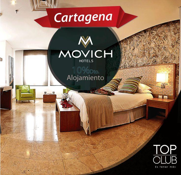 Si piensas visitar la heróica durante las vacaciones de fin de año te recomendamos el Hotel Movich de Cartagena con una ubicación privilegiada y descuentos exclusivos para afiliados TopClub. Movich Hotels & Resorts