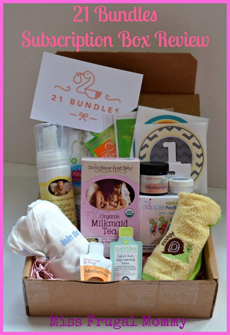 21 Bundles Subscription Box Review (Welcome Home Baby Bundle)