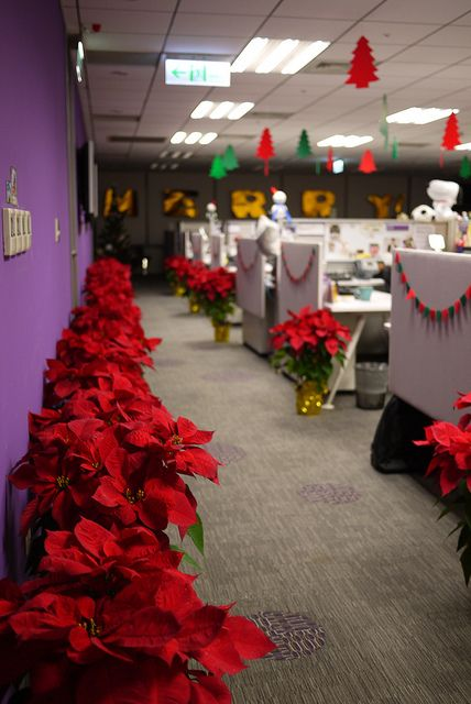 Resultado de imagen para oficina navidad