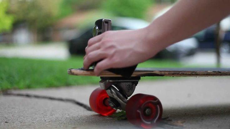 How To Make A Cheap Longboard POV Camera