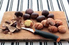 Cómo hacer castañas en almíbar - 4 pasos (con imágenes)