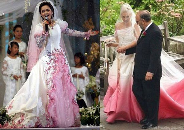 The Ultimate Pink Wedding Dress Entry Princess Ball Gown