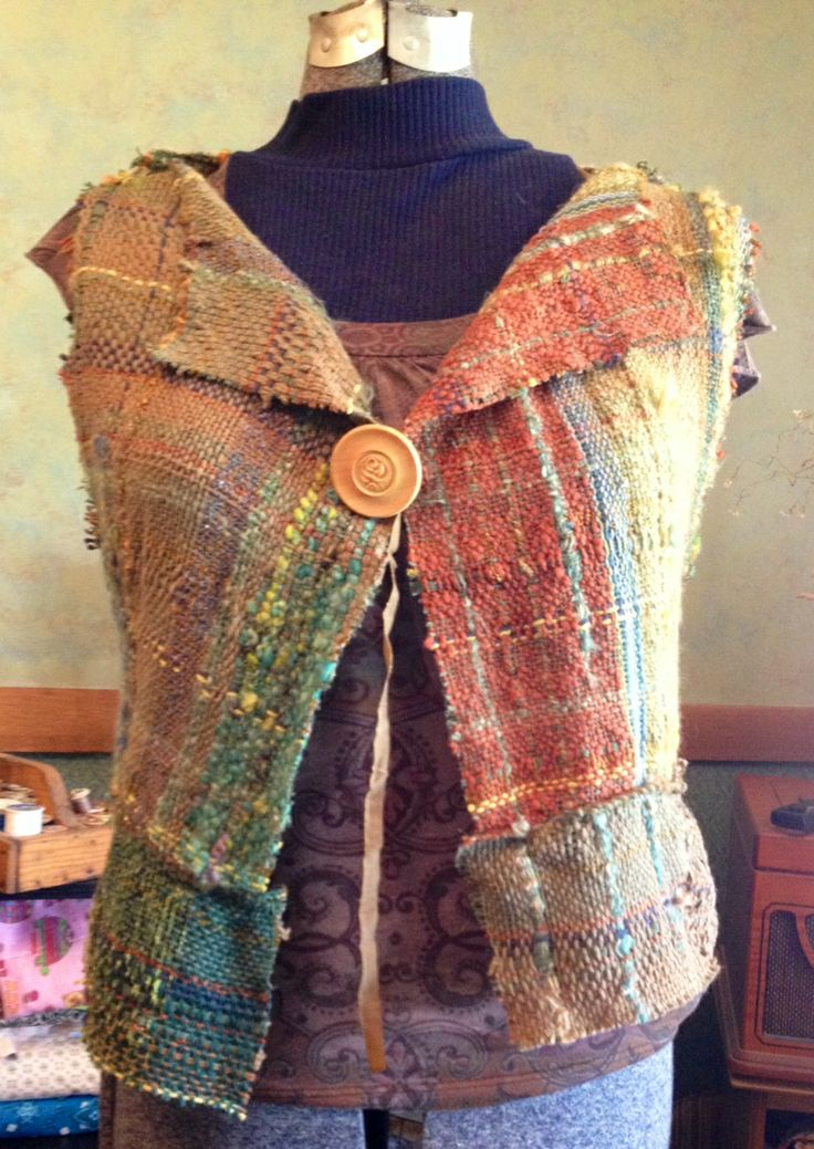 563 Best Saori Weaving Images On Pinterest Closure Weave