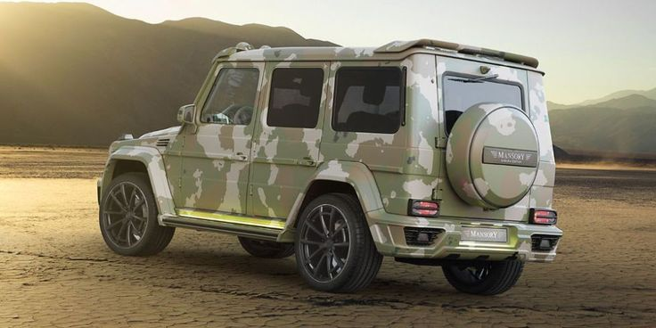 Mansory G63 Sahara – The Official Falconized Photos