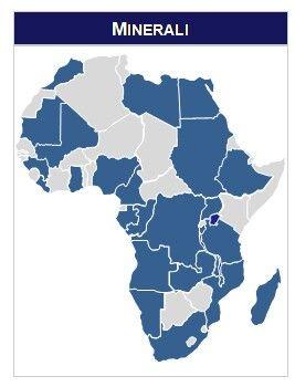 Sfuttare l'Africa per i minerali la mappa di #noneuncontinentenero