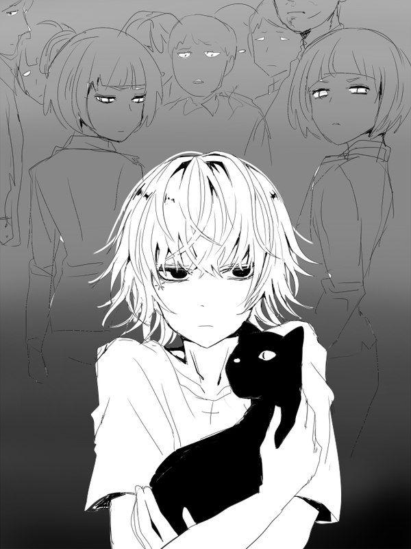 Suzuya Juuzou NEVER HURT THE KITTY! (...Poor Juuzou...)