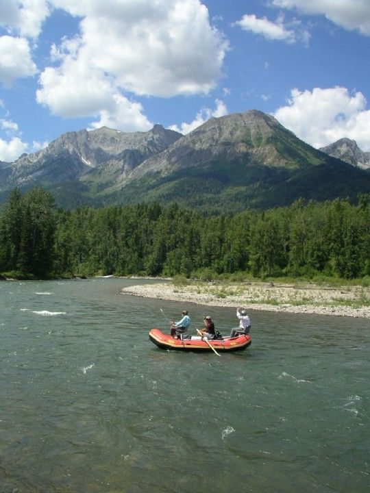 Fernie, BC: No Drift Boat = No Problem (BC stands for beautiful cutthroats)
