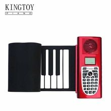 Kingtoy New Instrumentos Musical toys 61 key Professional Roll Up Piano //Price: $US $79.00 & Up to 18% Cashback on Orders. //     #homedecor