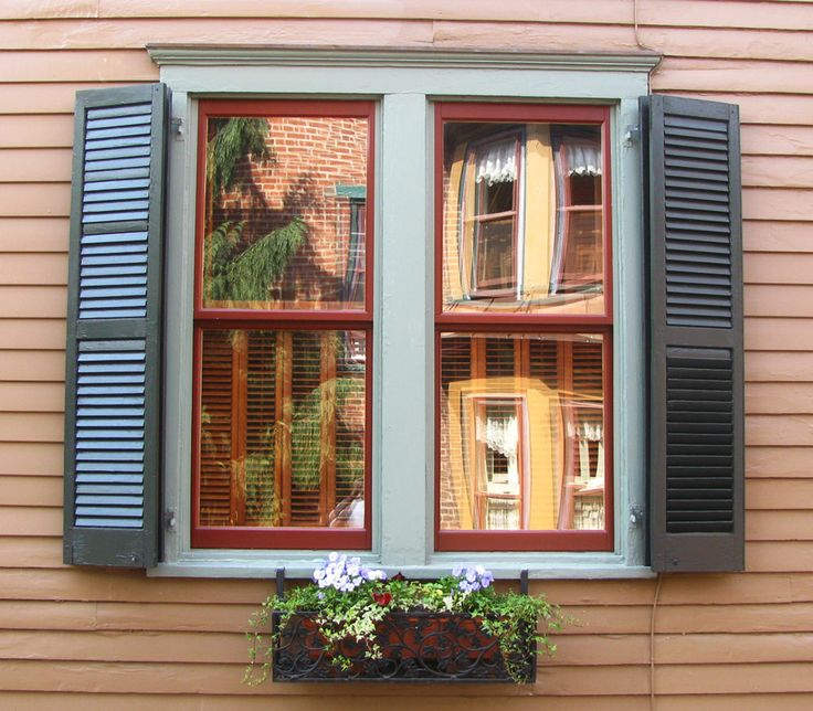 Double folding shutters folded position another shortcut is attaching a false tilt rod purchase for Exterior louvered window shutters