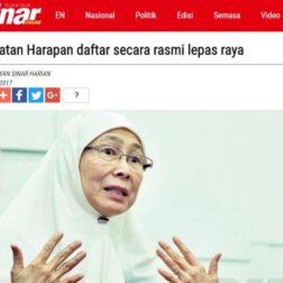 Dah Seminggu Raya Pakatan Tak Daftar Juga  JIKA semua perasan Kit Siang kelmarin bercakap tentang melantik Husam sebagai Menteri Besar Kelantan Sehari selepas anaknya Guan Eng pula bercakap tentang Amerika boleh menggunakan kekuatan ketenteraan untuk menawan negara dan selepas itu M... Readmore: http://babab.net/feed/ http://ift.tt/2sxgl1r http://ift.tt/2u9SnLO http://ift.tt/2tp9hsx