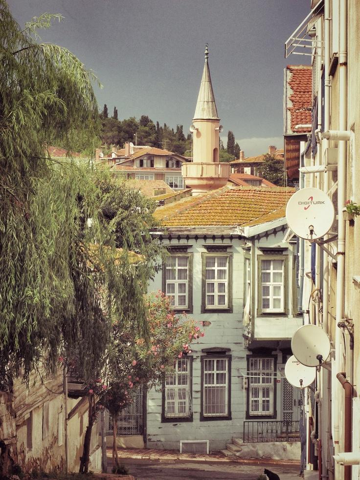 A street in Heybeliada