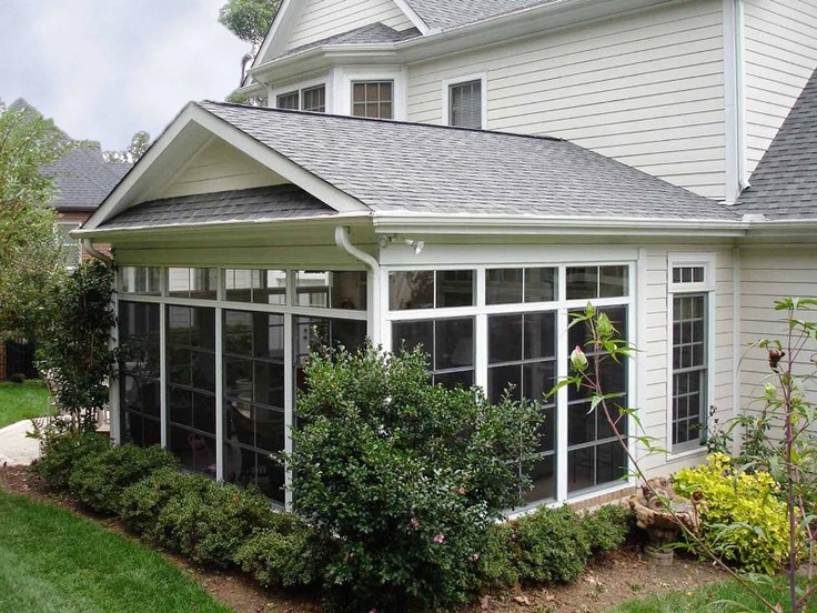 Eze breeze enclosed porch sunrooms pinterest for Enclosed porches and sunrooms
