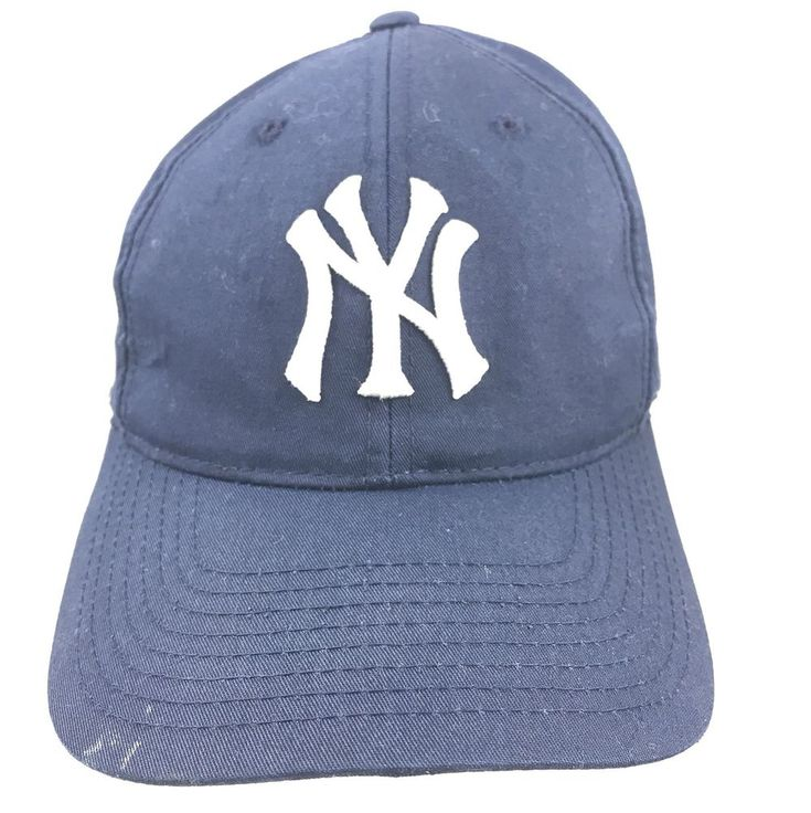 New York Yankees MLB Blue Baseball Cap Hat Adjustable Snapback