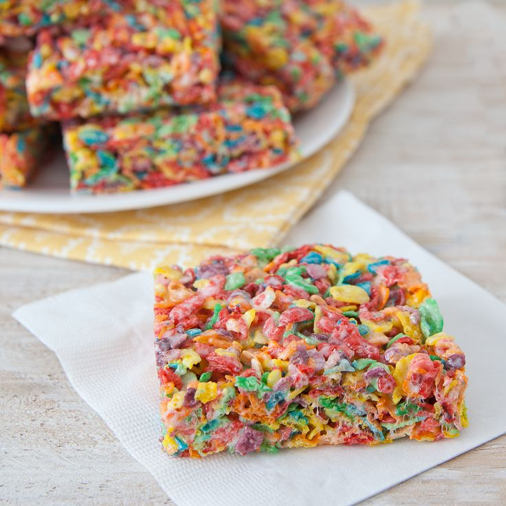 Check out this Marshmallow Crispy Treats recipe from Pebbles.
