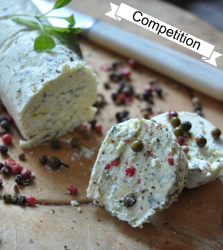 Cheese and pepper butter to set of a week of cheesy goodness for the Cheese Festival
